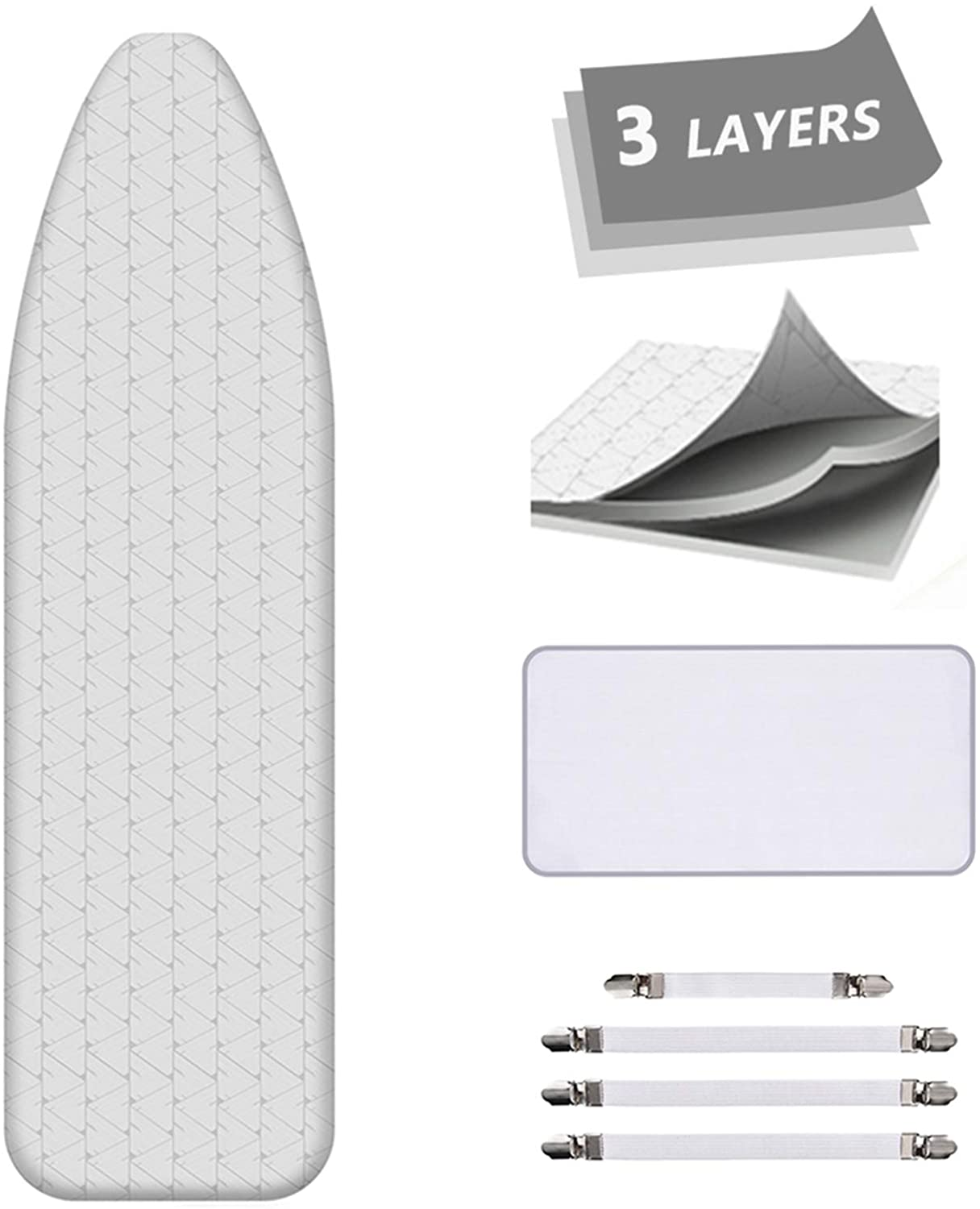 AUSHEN Ironing Board Cover and Pad