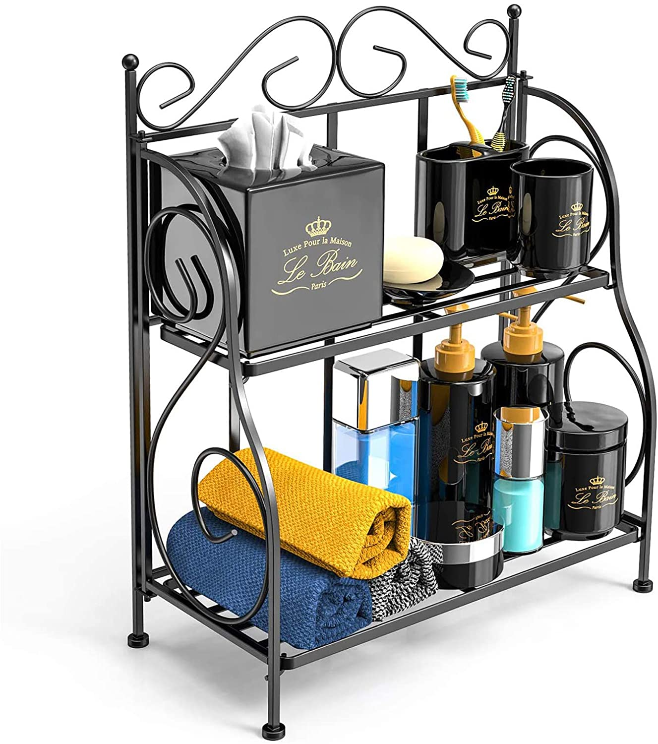 Bathroom & Kitchen Countertop Organizer