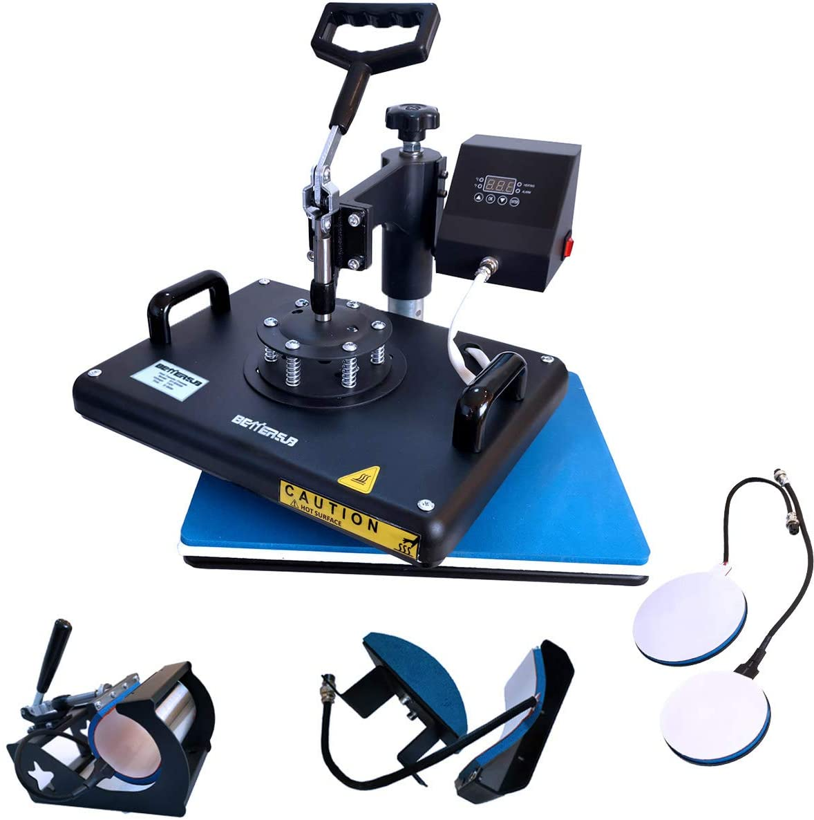 BetterSub Heat Press 5 in 1 Heat Press Machine