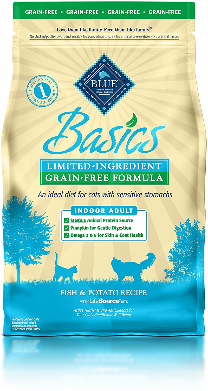 Blue Buffalo Basics Limited Ingredient Adult Dry Cat Food
