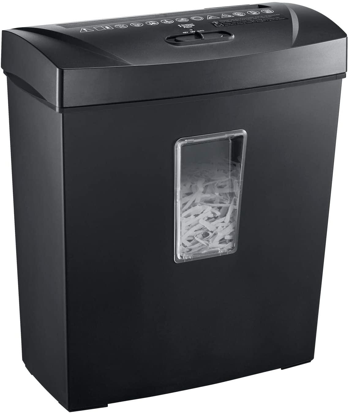 Bonsaii Paper Shredder, Black(C170-C)