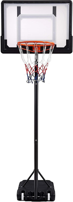 Cozy Dio Basketball Hoop & System (Black)