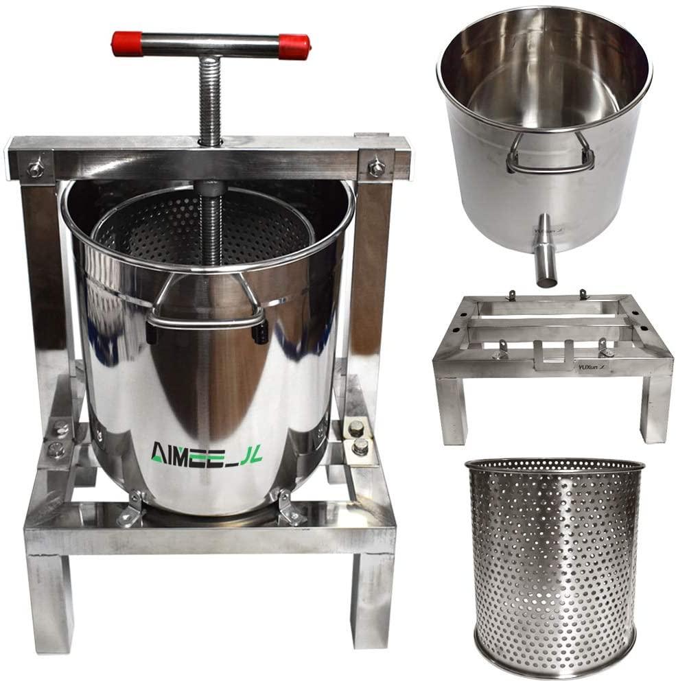 DIY large Fruit Honey Presser Beeswax Extractor