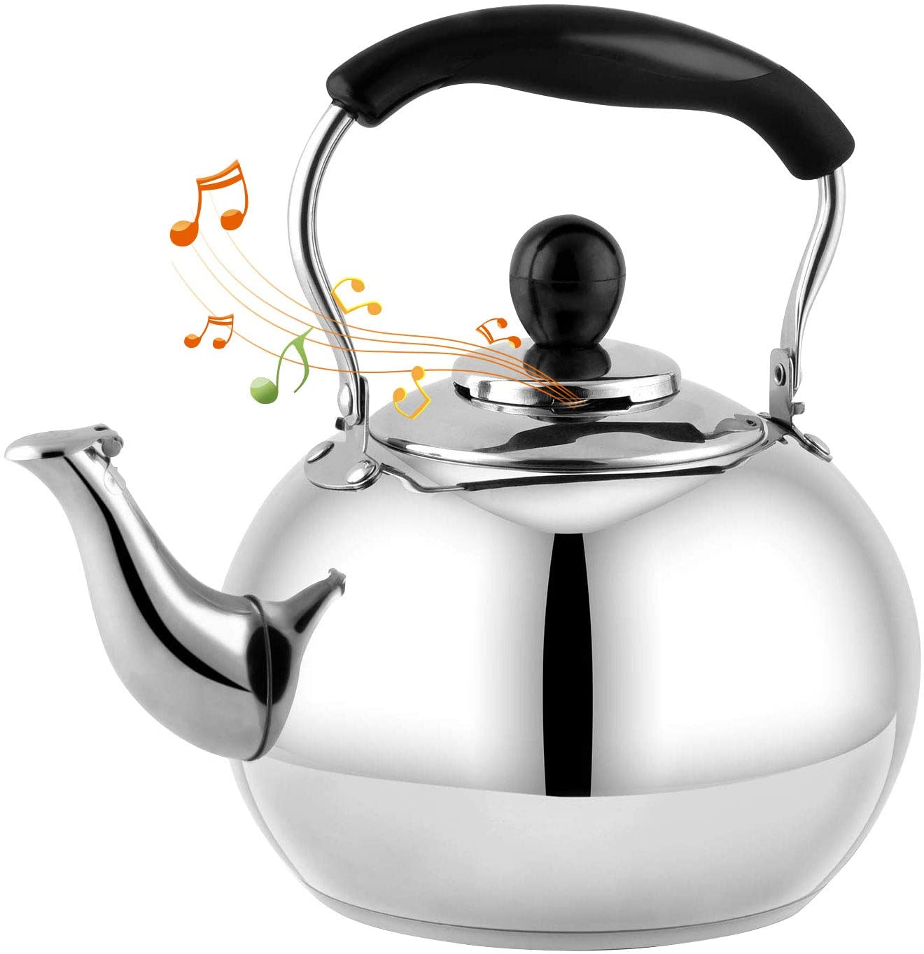 DclobTop Stove Top Whistling Tea Kettle