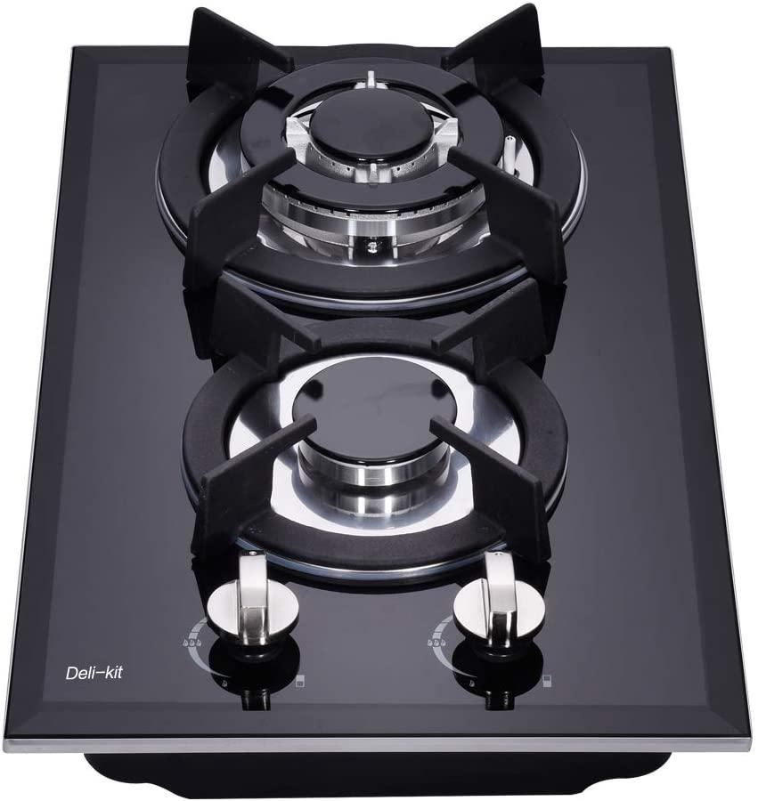 "Deli-kit 12"" Hob DK123-A01S Gas Cooker"