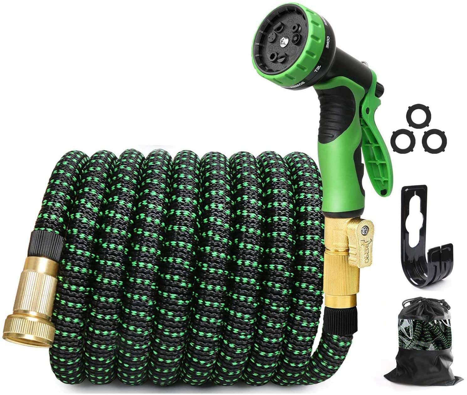 EASYHOSE 100ft Expandable Water Garden Hose