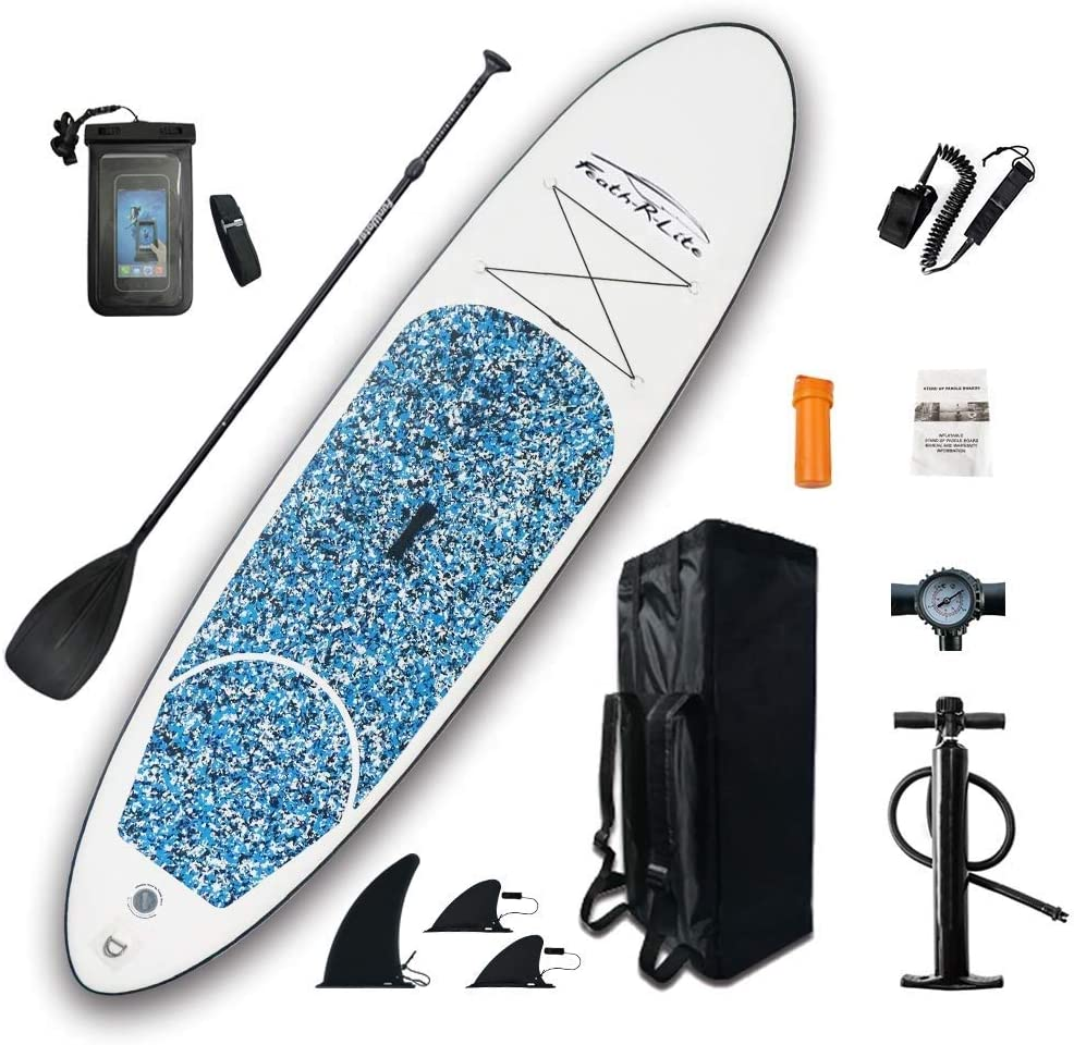 FEATH-R-LITE Inflatable Ultra-Light (17.6lbs) SUP