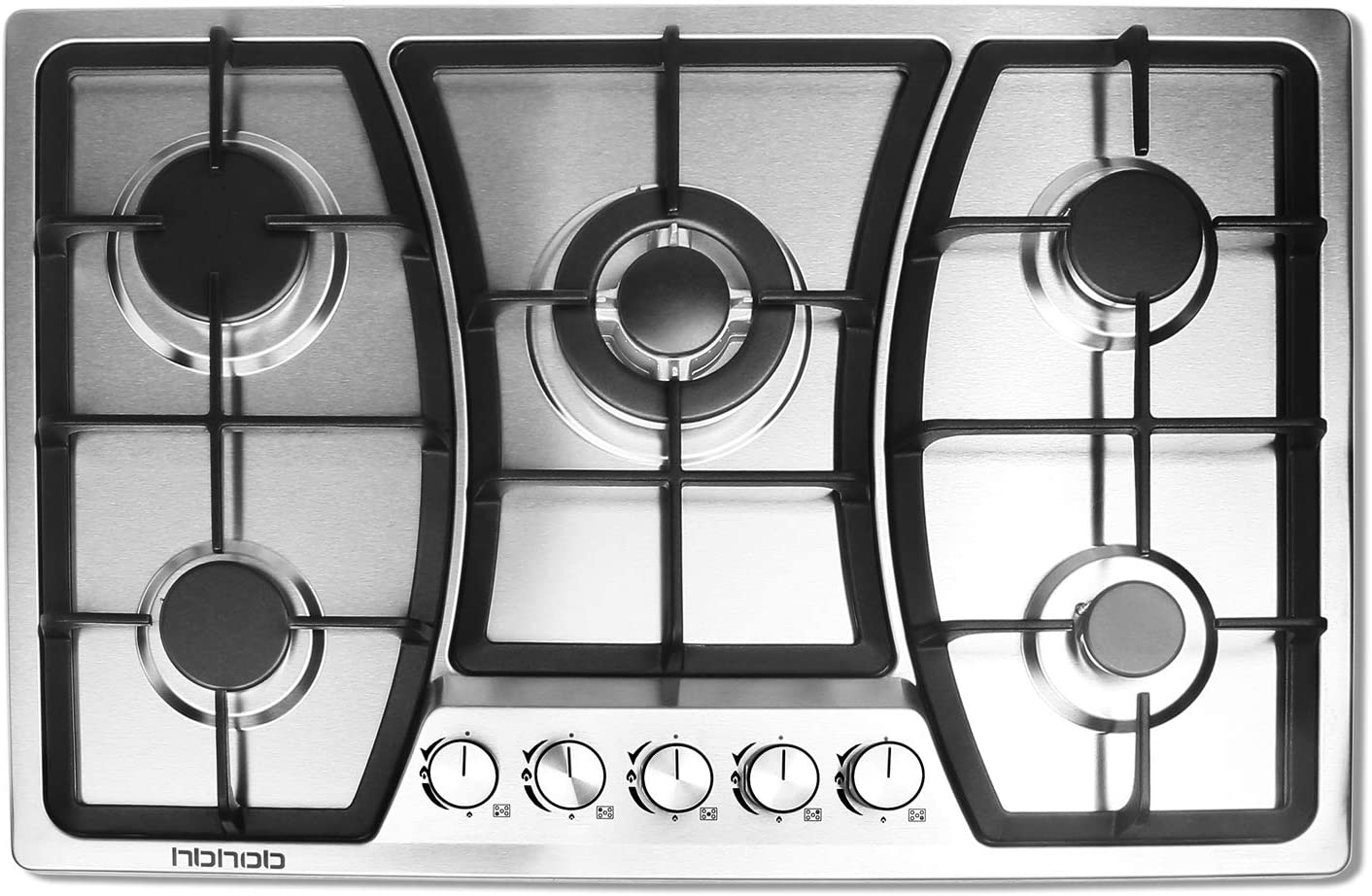 HBHOB 30 inches Gas 5 Burners Gas Stove