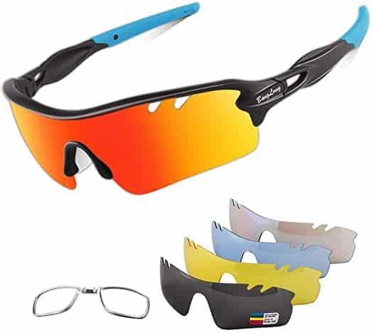 HOICMOIC Polarized Sports Sunglasses