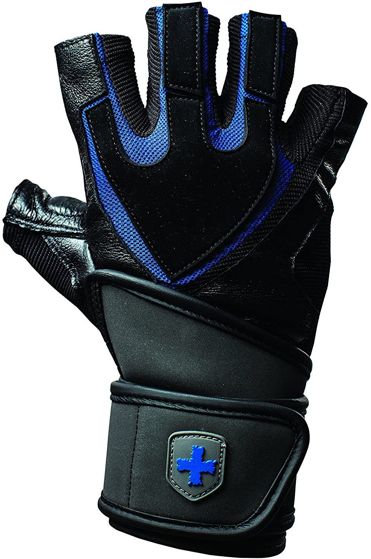 Harbinger Training Grip Wristwrap Gloves