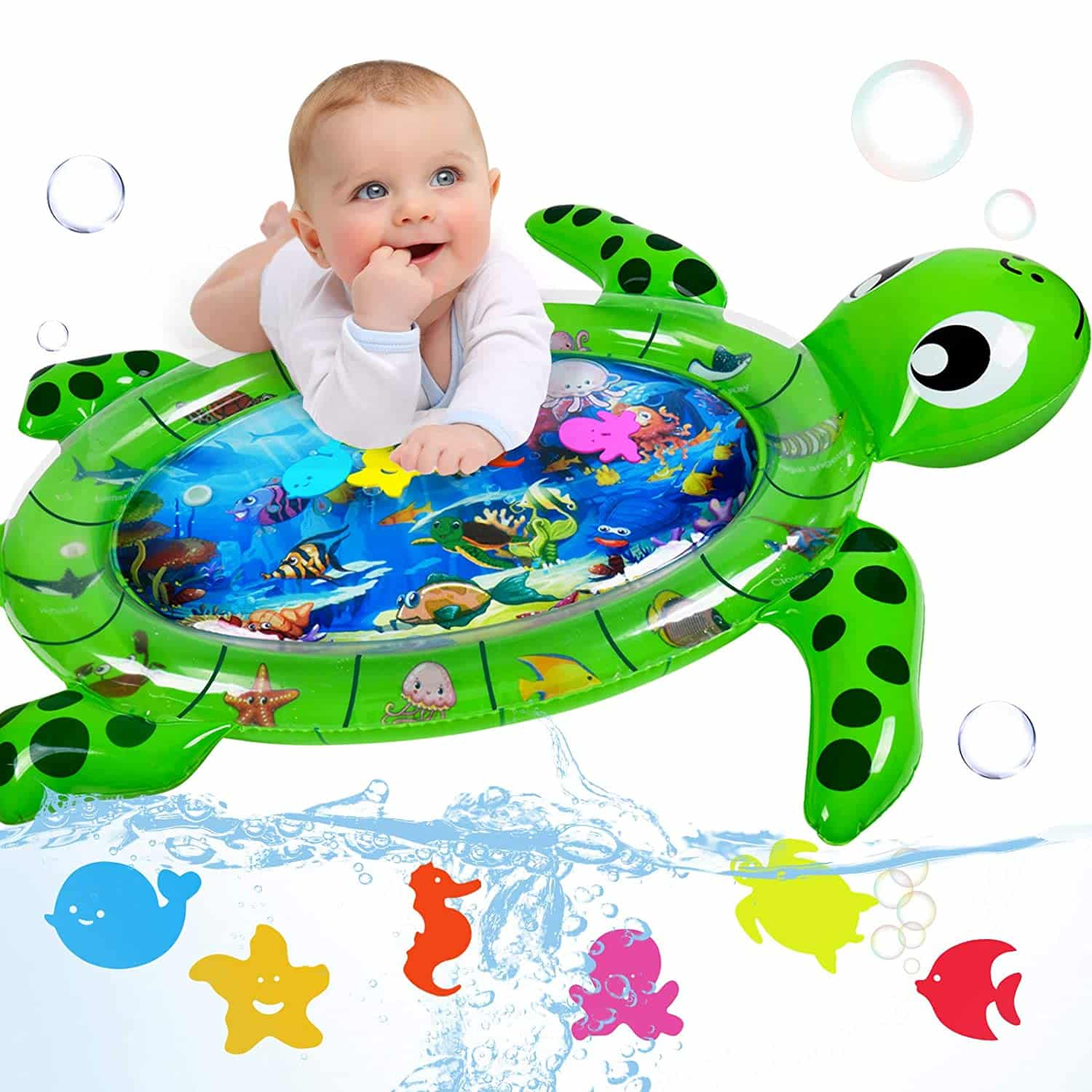Infinno Tummy Time Mat Inflatable Baby Water Mat
