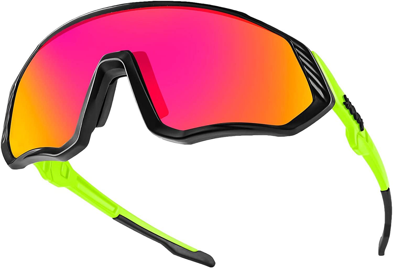 KAPVOE Cycling Glasses Sports Sunglasses Polarized