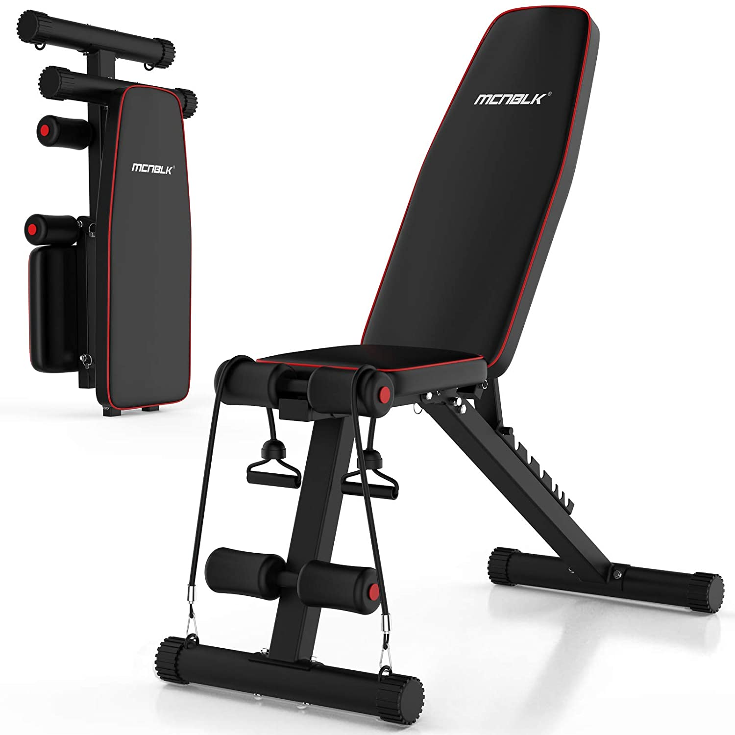 MCNBLK Adjustable Weight Bench