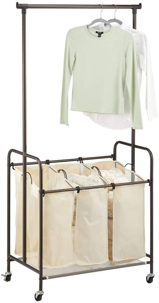 MDesign Portable Laundry Sorter
