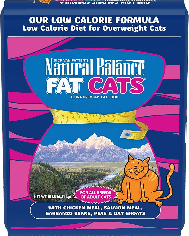 Natural Balance Fat Cats Low-Calorie Dry Cat Food
