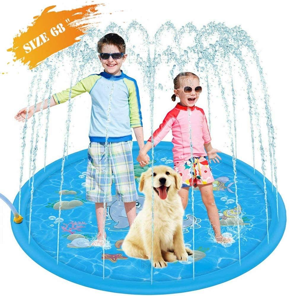 Penban Inflatable Splash Sprinkler Pad