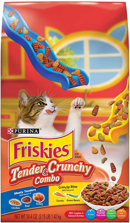 Purina Friskies Tender & Crunchy Combo Adult Dry Cat Food