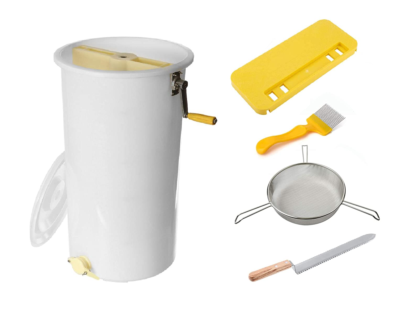 REGIVA Manual 2-Frame Plastic Honey Extractor