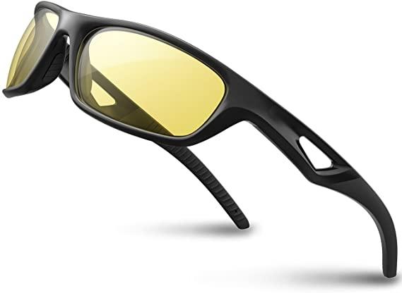 RIVBOS Polarized Sports Sunglasses