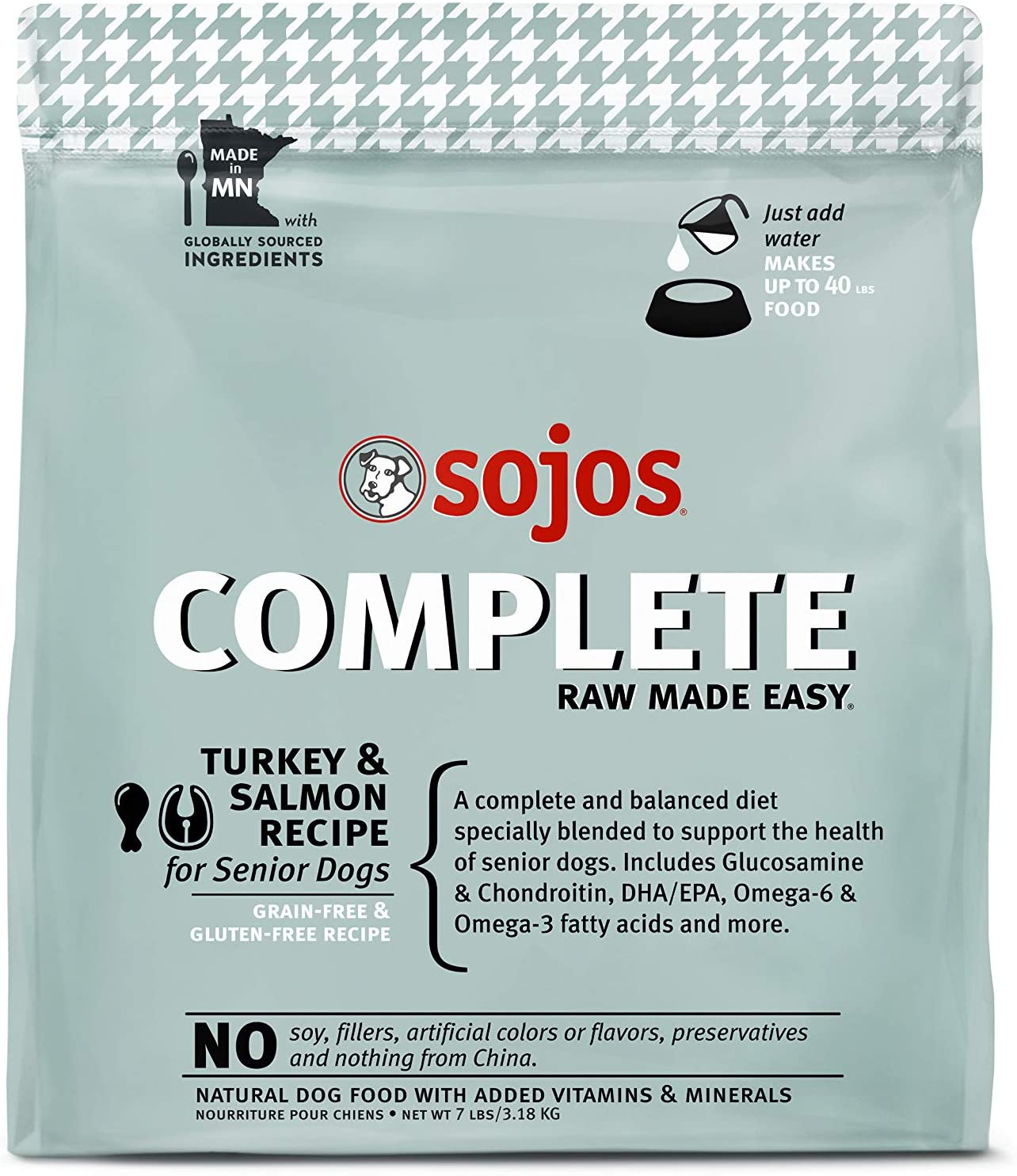 Sojos Complete Natural Freeze-Dried Dog Food
