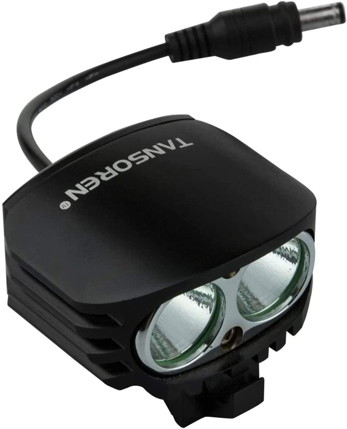TANSOREN 4000 Lumens Bright Waterproof Bike Headlight