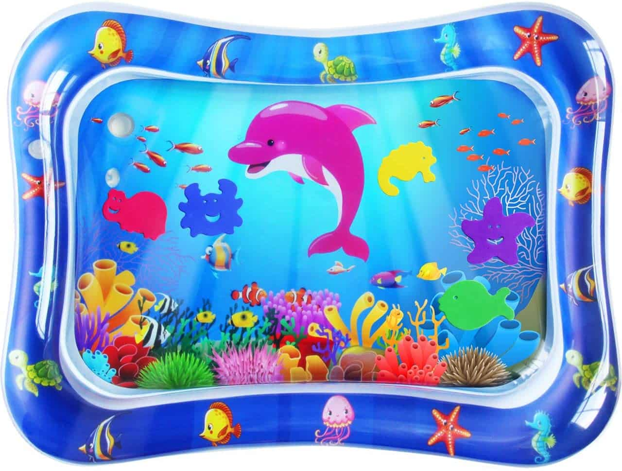 ZMLM Baby Tummy-Time Water Mat