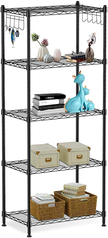 ALVOROG 5-Shelf Shelving Storage Unit