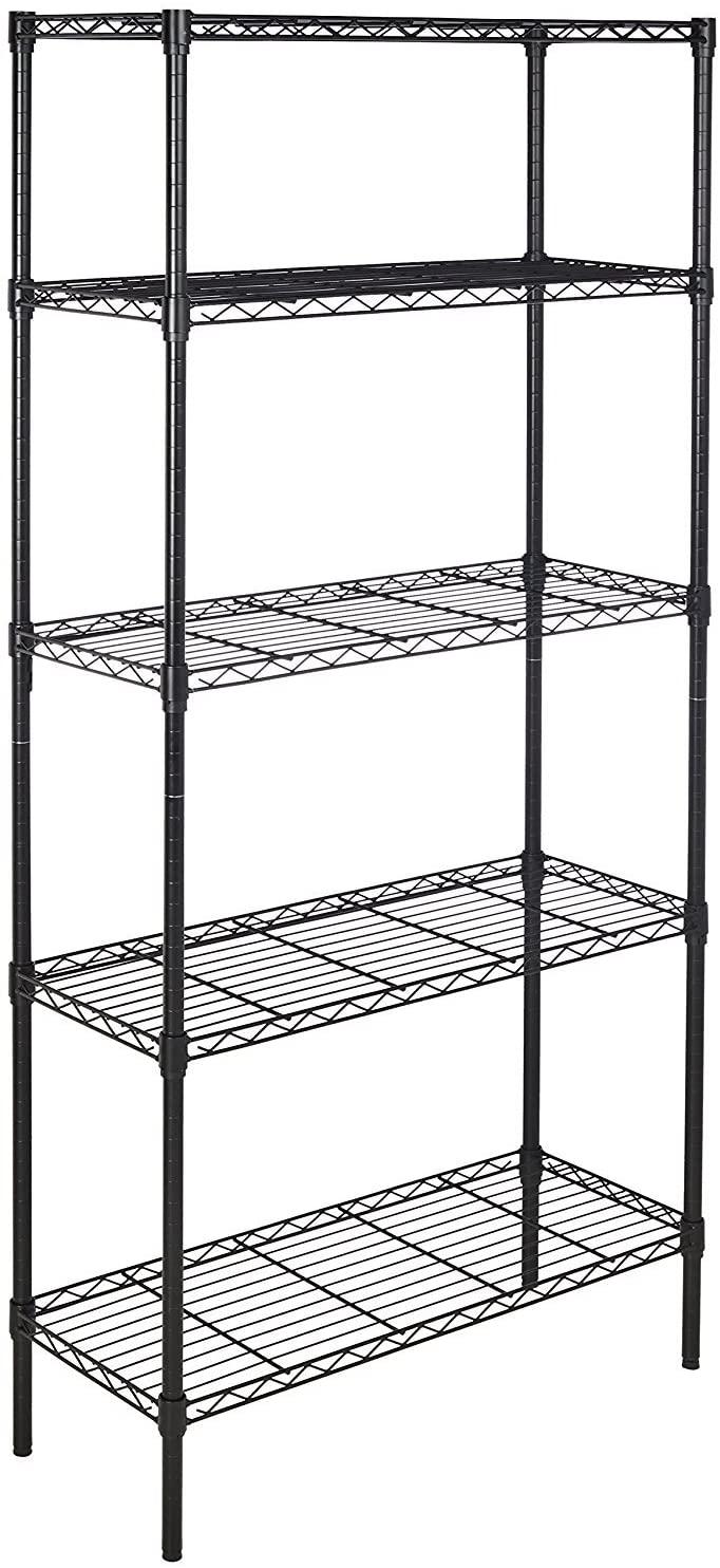 AmazonBasics 5-Shelf Shelving Storage Unit