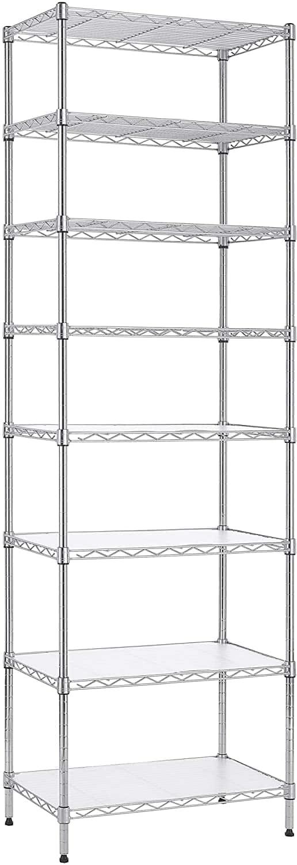 Finnhomy 6-Tier Steel Wire Rack Shelving