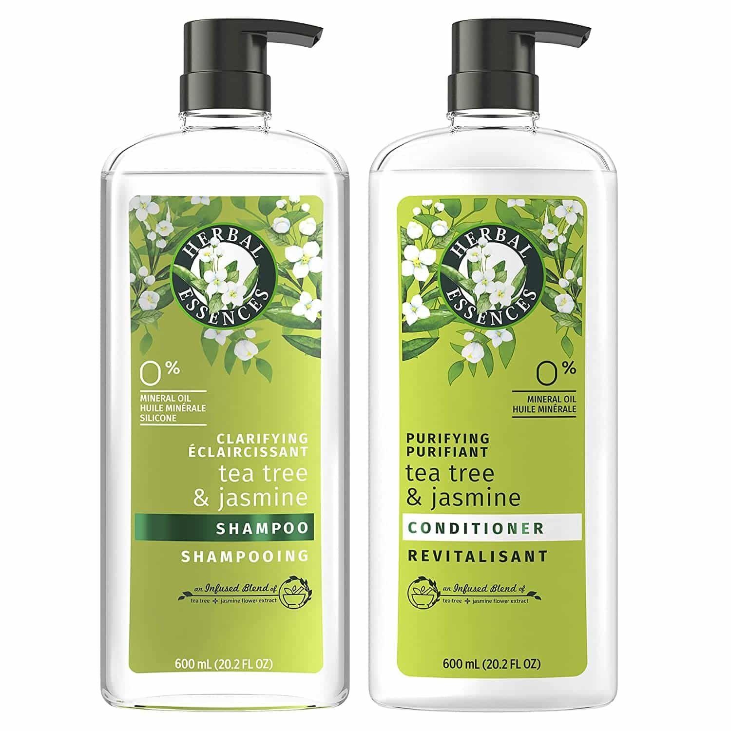 Herbal Essences, Clarifying Shampoo, and Purifying Conditioner
