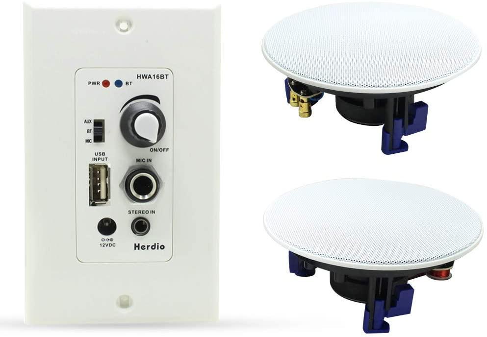 Herdio Home Audio Package In-Veiling Speaker
