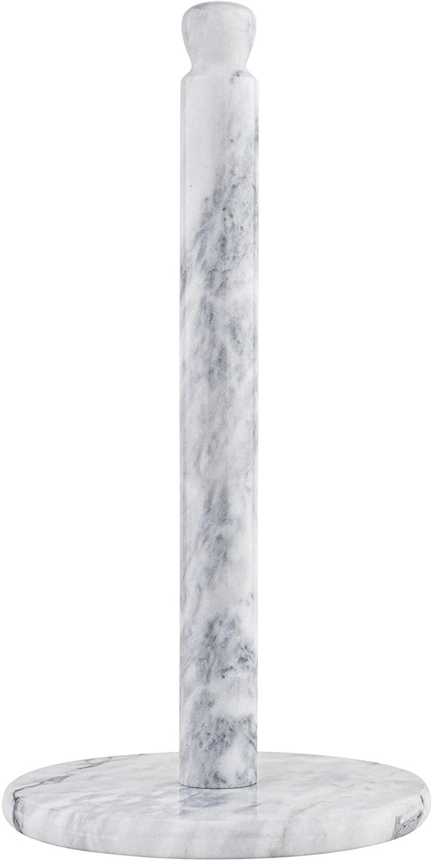 Homeries White Marble Paper Towel Holder