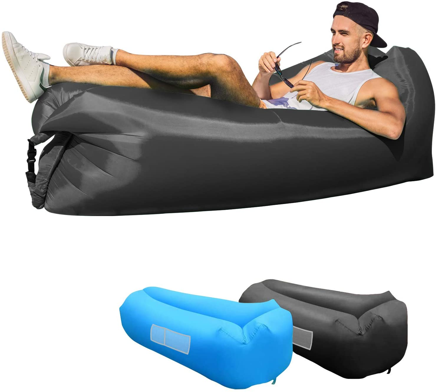 KXLY Inflatable Lounger Air Sofa