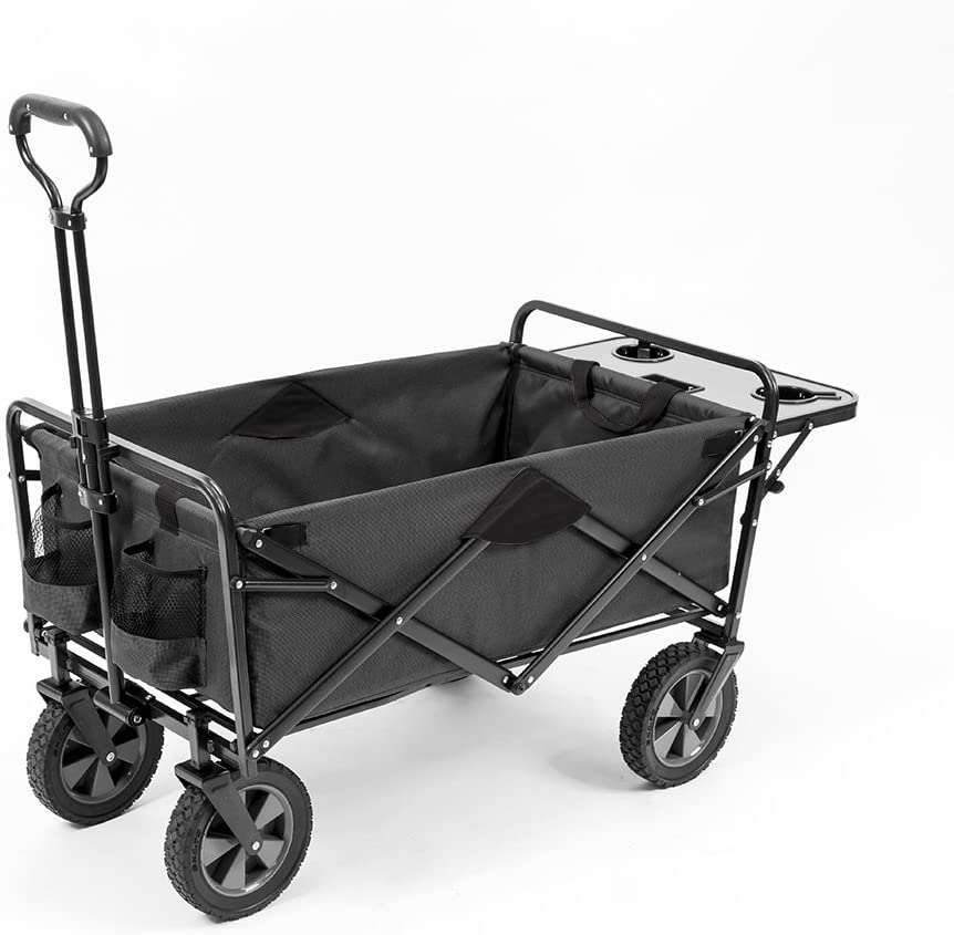 Mac Sports Collapsible Outdoor Cart, Gray