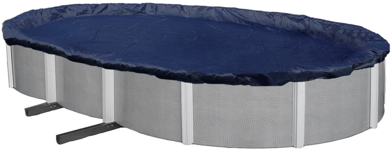 Blue Wave BWC720 Bronze 8-Year Oval Above Ground Pool Cover