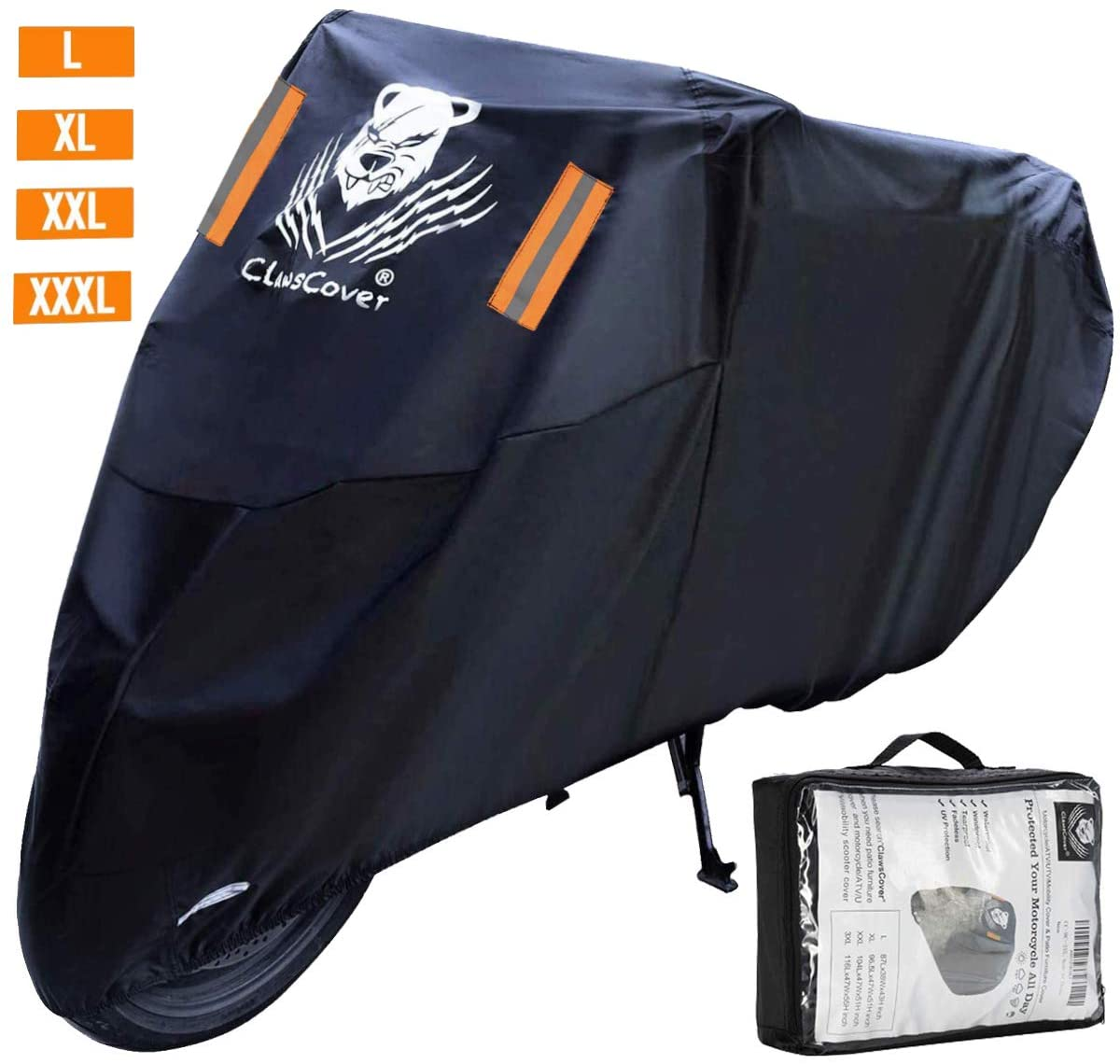 ClawsCover Motorcycle Cover