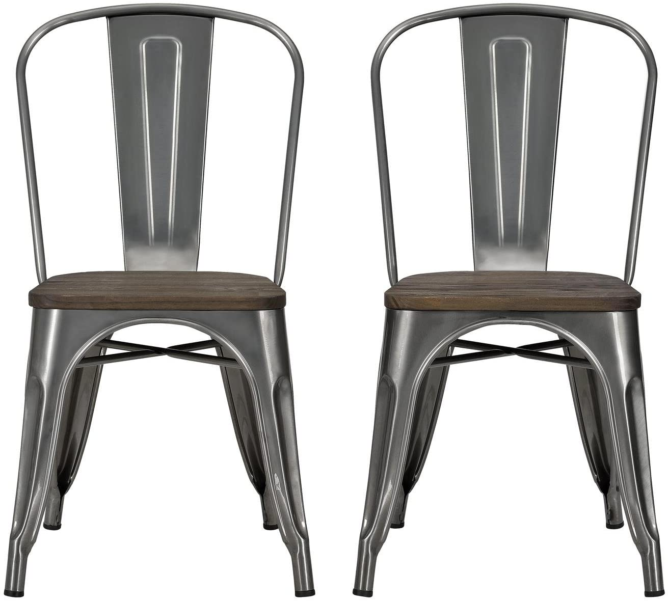 DHP Fusion Metal Dining Chair
