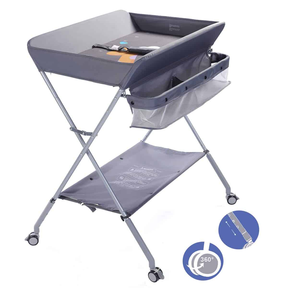 EGREE Baby Changing Table Portable