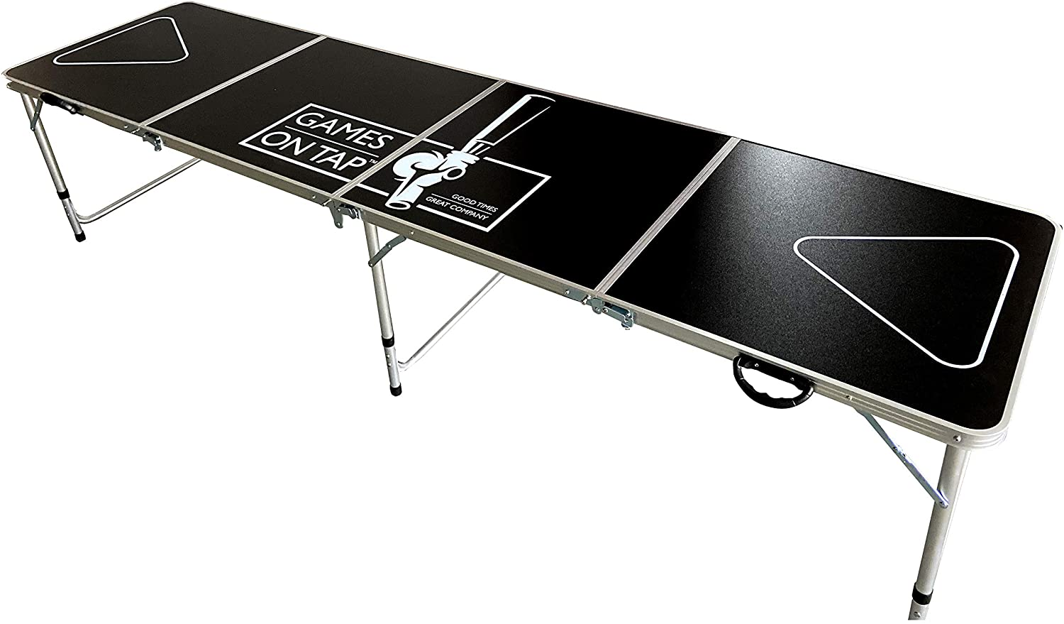 Games on Tap Foldable Beer Pong Table