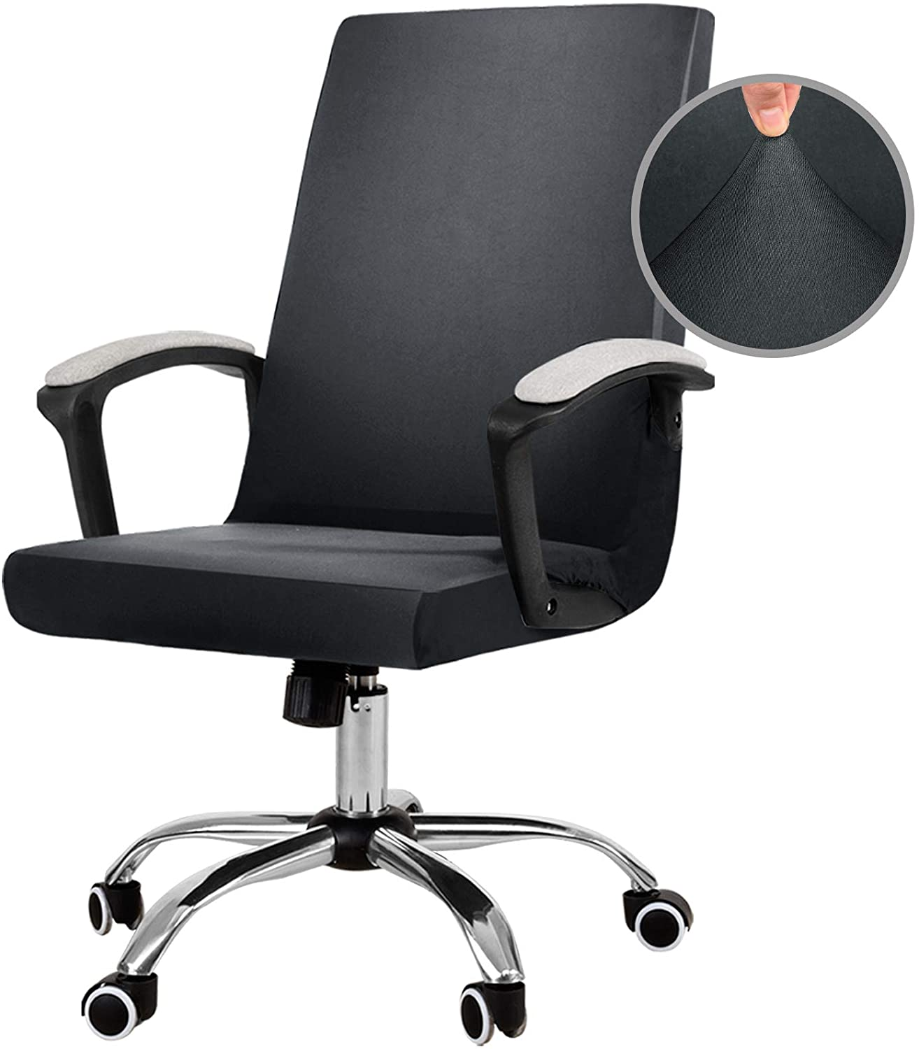JIATER Stretchable Office Chair Cover