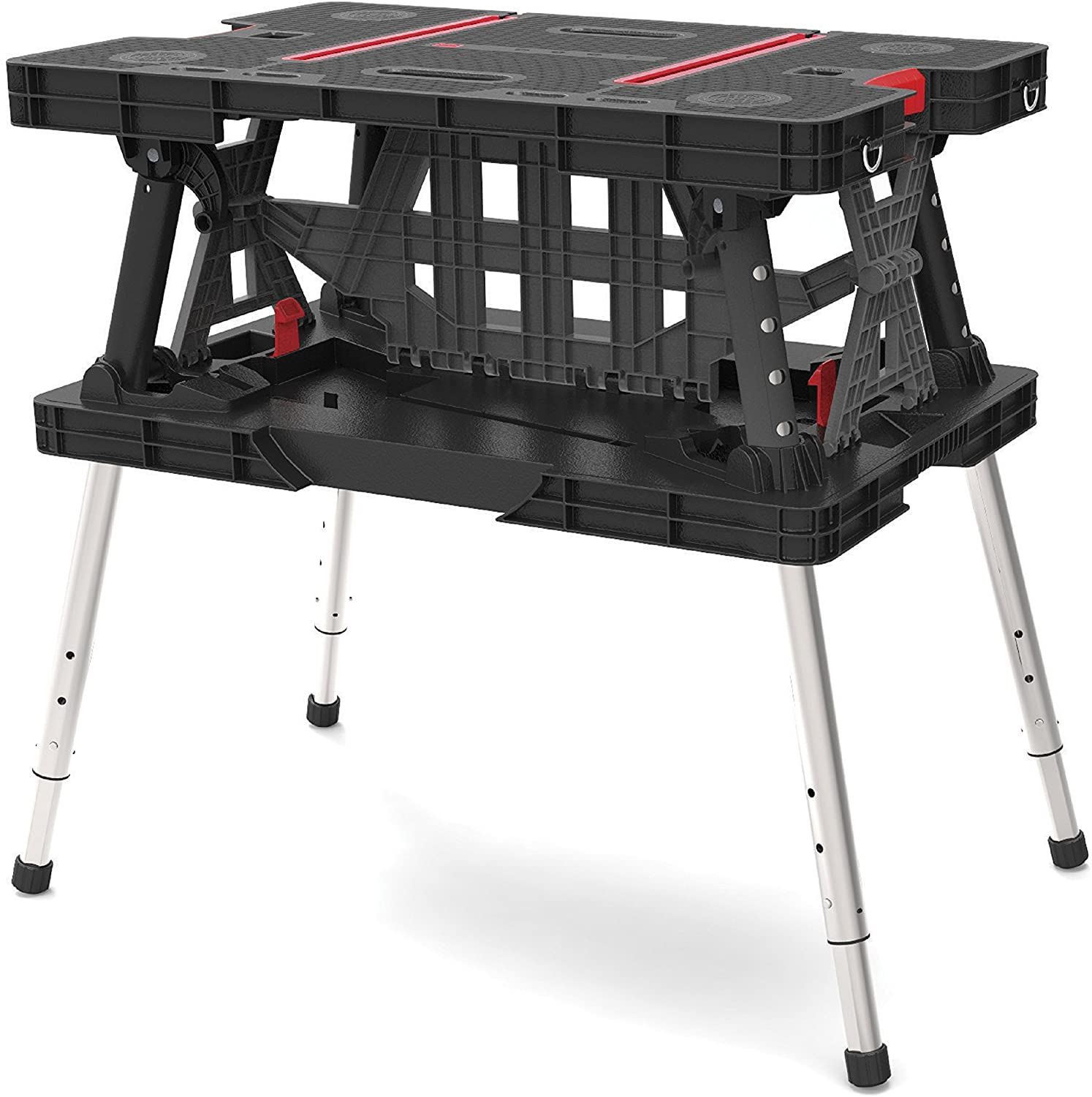 Keter Folding Compact Adjustable Folding Table