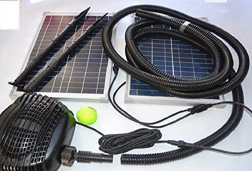 MNP SP50 Powerful Twin 50W Solar Panel Powered Kit