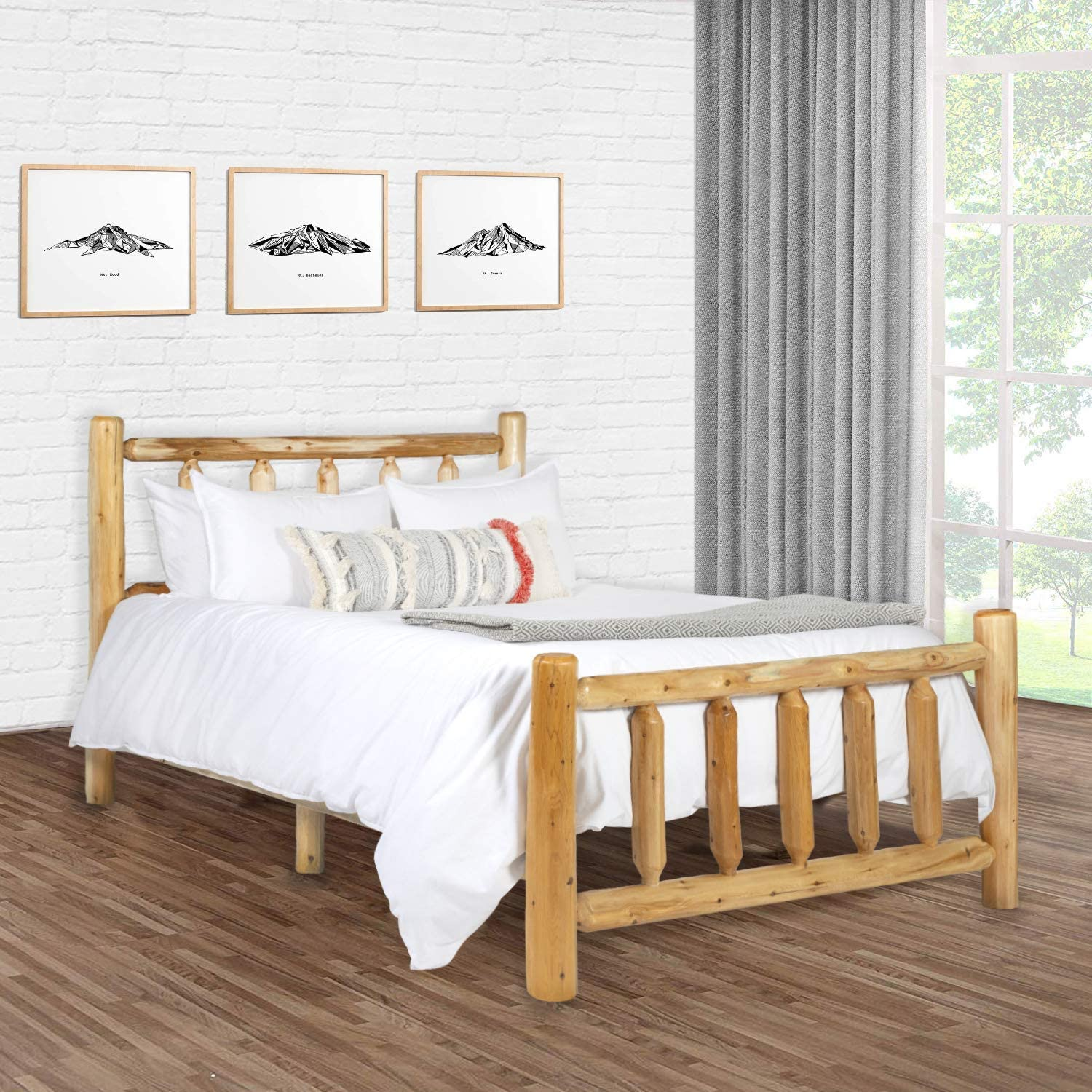 Michigan Rustics Rustic Log Bed Frame
