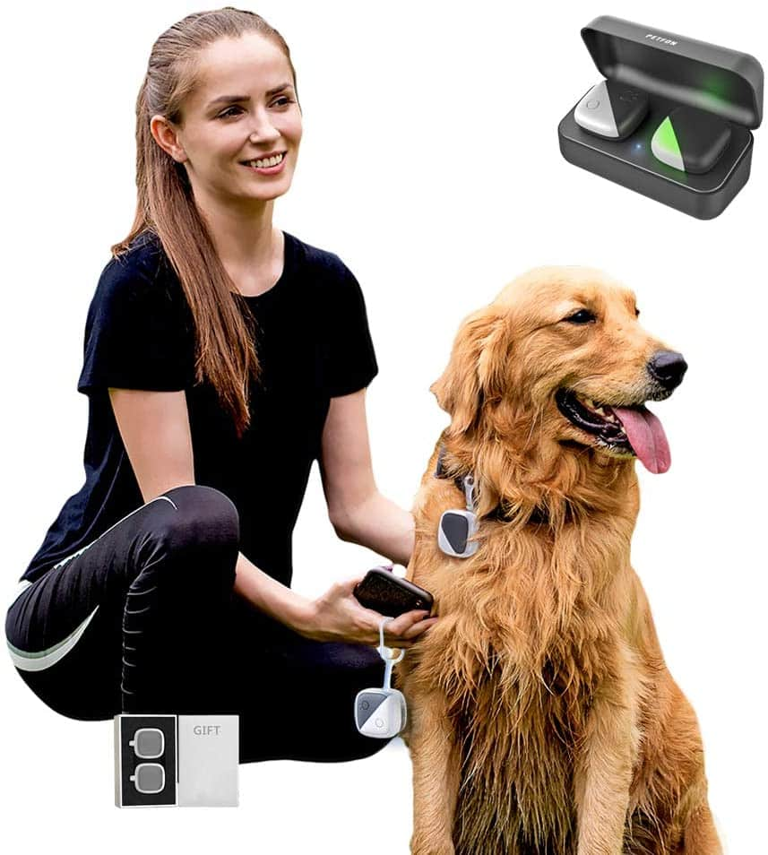 PETFON GPS Pet Tracker for Dogs (with Gift)