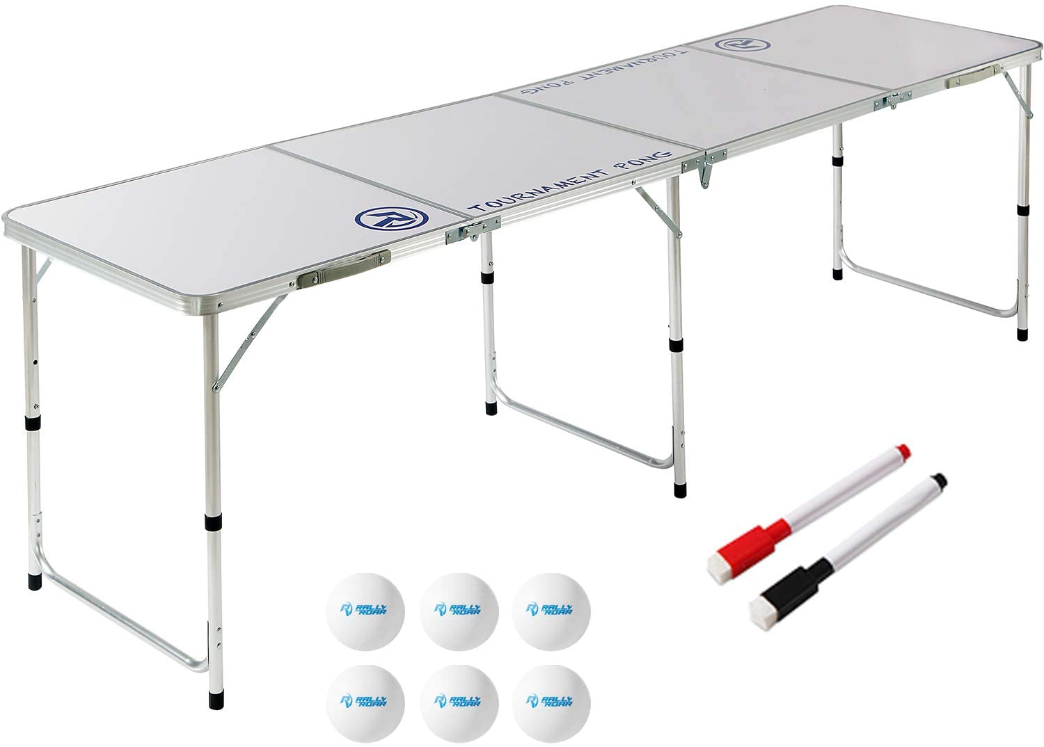 Rally and Roar Beer Pong Table