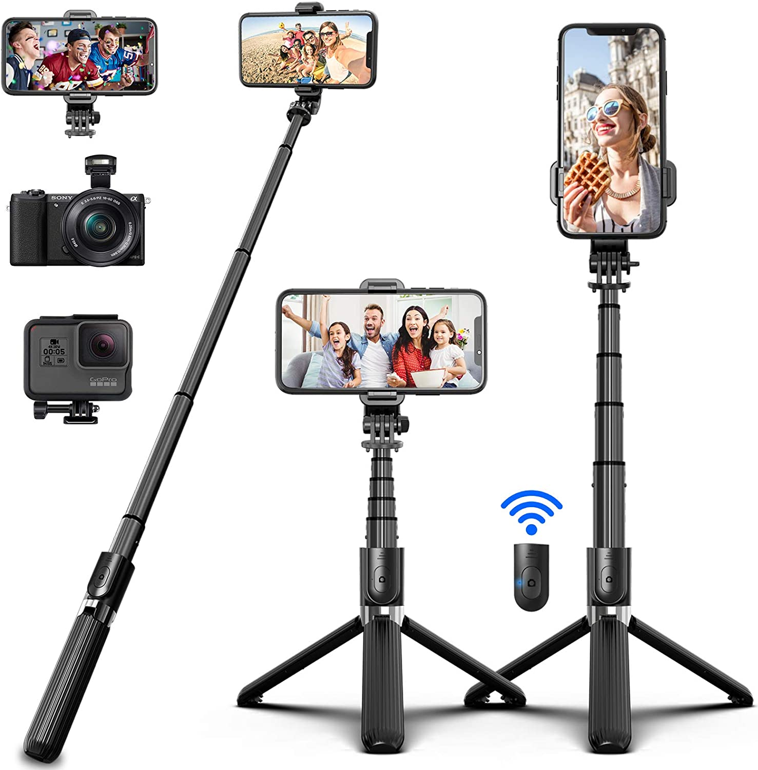 SYOSIN Bluetooth Selfie Stick for GoPro
