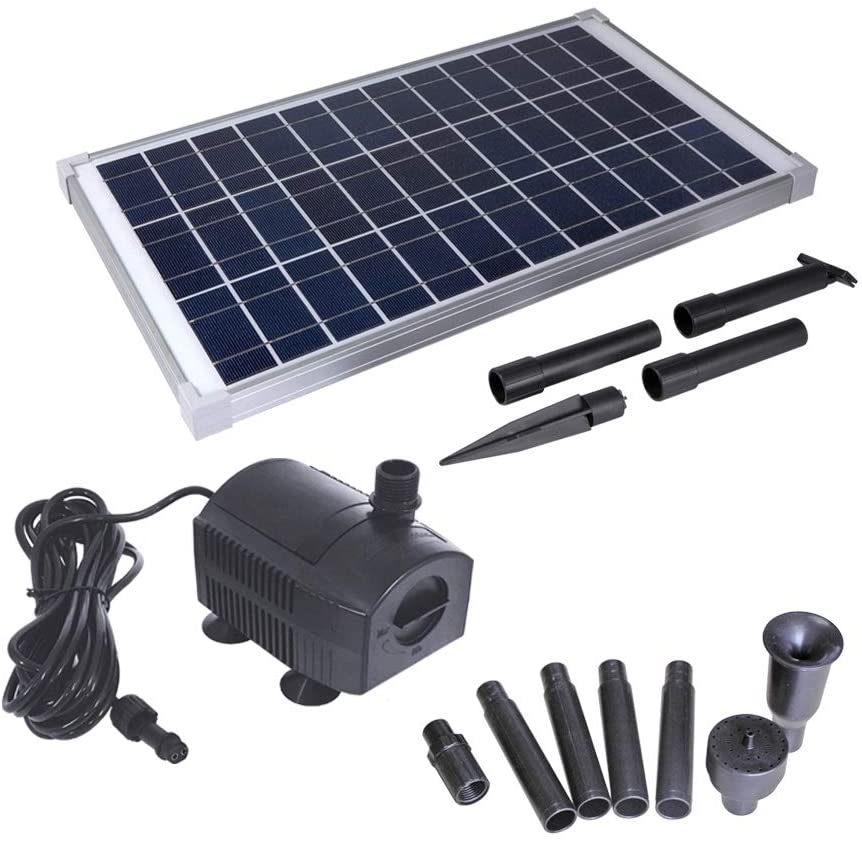 Solariver Submersible 360 + GPH Solar Water Pump Kit