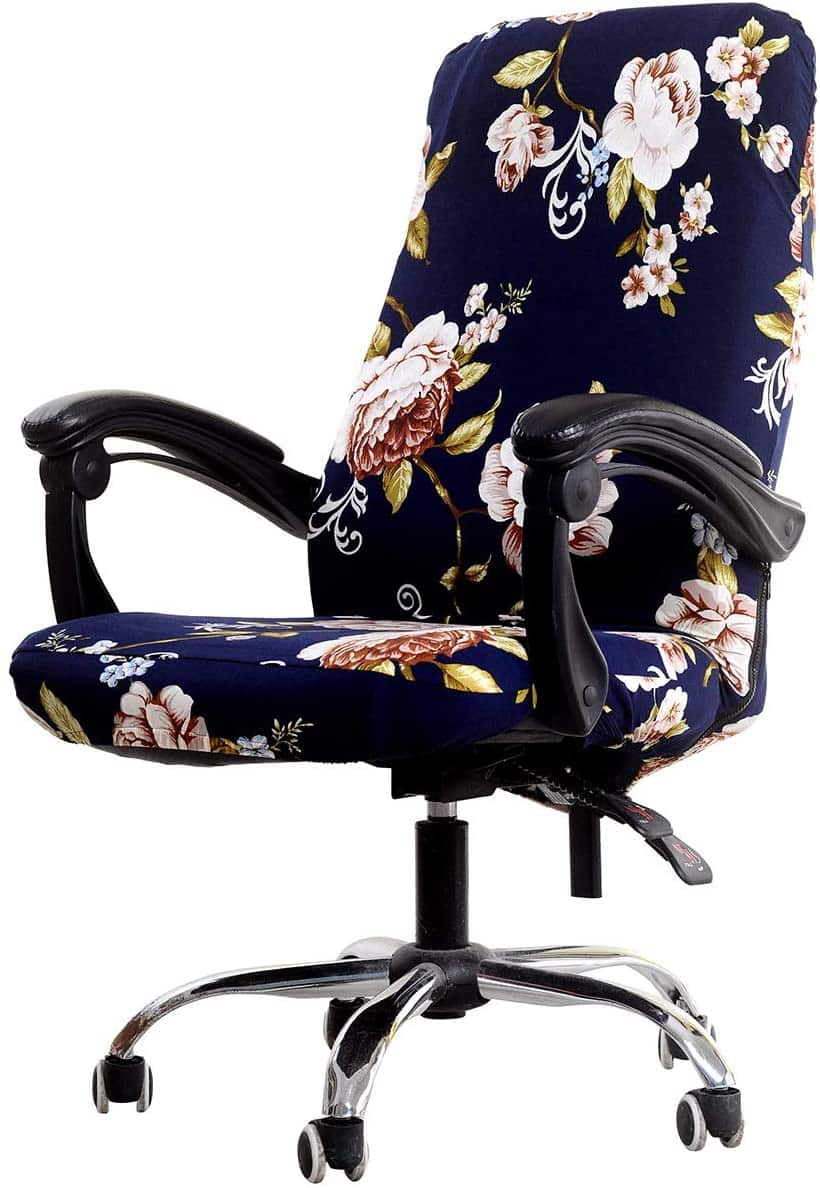 WOMACO Printed Office Chair Cover