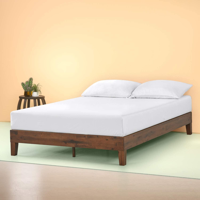 Zinus Marissa Deluxe Wood Platform Bed