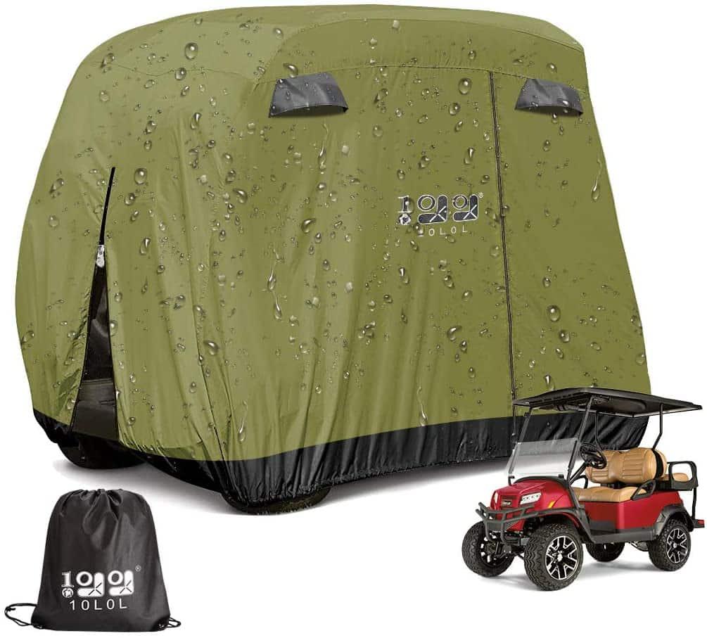 9.99WORLD MALL Universal Golf Cart Cover